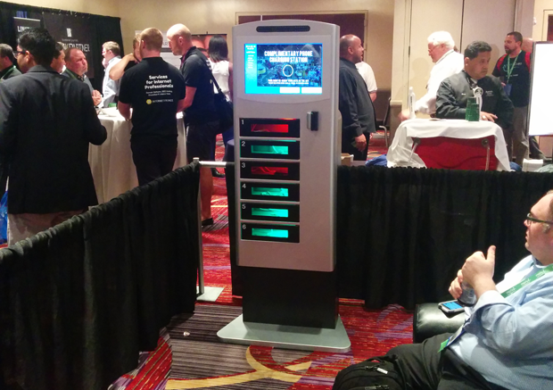 Top Six Reasons Your Trade Show Booth Needs a Mobile Charging Station