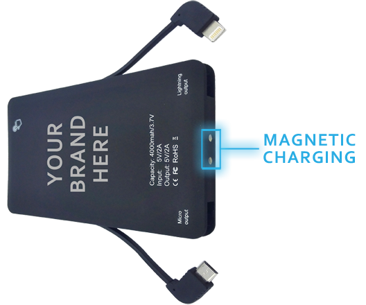 Wireless Magnetic Charging
