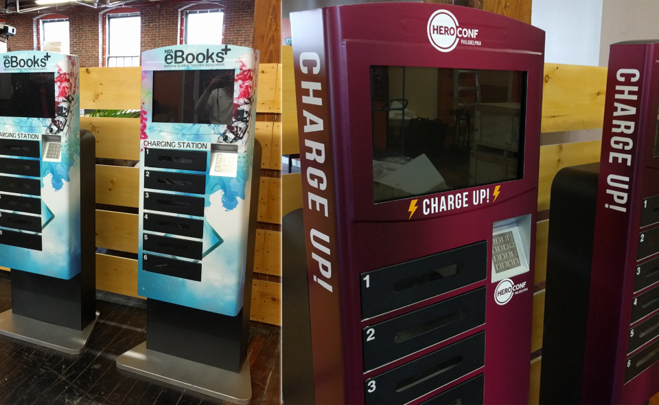 6 Custom Branding Tips for Phone Charging Kiosks